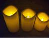 led仿真电子蜡烛灯 遥控防水塑料蜡烛灯 无烟求婚婚庆创意蜡烛
