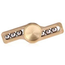 厂家直销纯铜指尖陀螺金属弹珠光影手指陀螺随从美国EDC