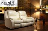 头等舱单位真皮组合沙发 电动多功能真皮沙发 批发家庭影院沙发