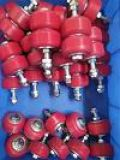 非標定制設備滾輪、聚氨酯滾輪、pu輪