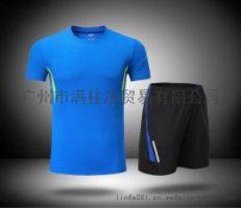 运动套装男士短袖两件套健身服男速干透气夏季跑步运动服