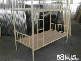 部隊上下牀鋼鐵牀1.5米學生宿舍牀尺寸鐵牀折疊牀單人牀廈漳泉龍