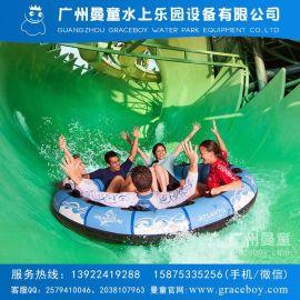 水上樂園設備水上滑道玻璃鋼大型滑梯衝天回旋滑梯