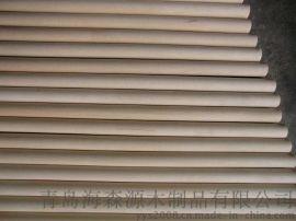 质优价廉 工厂直供 16*820MM优质 实木圆棒 中棒 木棍 欢迎选购