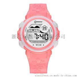 名瑞儿童电子手表男孩 女童 学生防水夜光电子手表