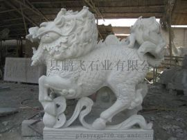 廠家供應 石雕動物   各種石材 雕刻景區石獅子 樣式齊全
