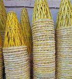 FD-17611大量出售纯手工编织开张庆典竹花篮