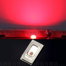 贴片5730红光led灯珠 大功率超高亮度20000-30000红色发光二极管