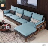 北欧布艺转角沙发 简约小户型可拆洗贵妃L型沙发
