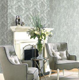 輕奢簡約歐式無縫牆布,客廳臥室牆布,高檔提花壁布
