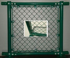 鋼筋棍組裝球場圍網,防盜螺絲安裝體育場圍欄網,鐵棍簡單足球場圍網