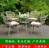 厂家直销户外PE编藤桌椅|田园风格室个编藤家具