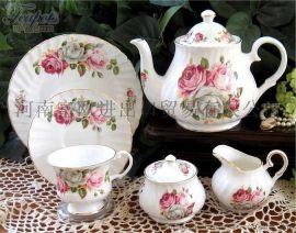 骨瓷碗碟套装简约家用 陶瓷器餐具套装碗盘韩式