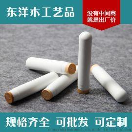 东洋木工艺品 化妆手柄白粗型 高质化妆木手柄制作