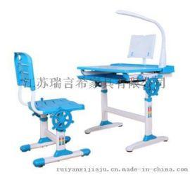 儿童现代简约学习桌椅组合套装 板式可升降桌椅