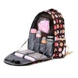 厂家供应时尚多功能防水耐磨单双肩妈咪包大容量外出妈咪包