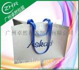 【卓然包装】高档品牌礼品袋 蛇皮编织袋 单张白色全新料 欧洲百货手提包装袋
