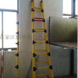 新款式圆管绝缘单梯{图}全玻璃管材质圆管式单梯批发报价