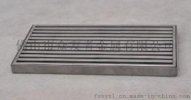 304不锈钢地漏,长方形非标地漏,不锈钢制品