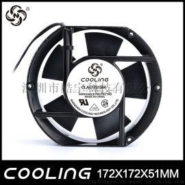 深圳酷寧17251機櫃機箱交流散熱風扇廠家直銷