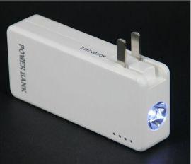 LED手电移动电源 多功能充电器手 电筒充电宝品能移动电源