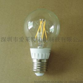 LED灯丝灯 6W调光 LED灯丝球泡 钨丝灯 恒流宽压高显色 厂家批发