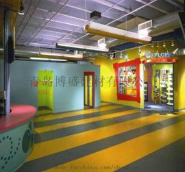 LG青岛健身房防静电地板胶