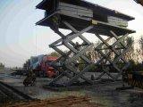 赤峰市海南区启运大吨位升降平台剪叉式升降机简易货梯