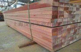 上海n2柳桉木园林材料 木材直销厂家