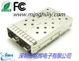SFP+ 连接器 1x2 CAGE 10G
