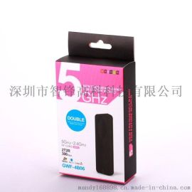 雙頻5.8G相容2.4G/USB無線網卡/300MBPS/適合傳輸視頻