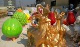 【玻璃钢广场卡通水果/彩绘装饰水果雕塑/玻璃钢创意水果乐园策划公司】