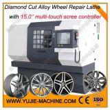 汽车轮毂修复数控车床,江苏宇杰 AWR23,轮毂拉丝机 全自动