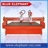 蓝象数控2425大型双头木工雕刻机,国产HQD风冷主轴,富凌变频,步进电机,经济实惠