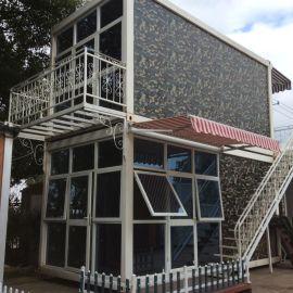 營口優質彩板房活動房集裝箱改造房屋 擴展房  高端集裝箱房屋Container house