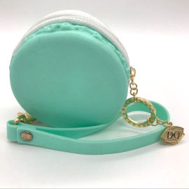 硅胶包包 浅绿色时尚零钱包