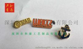 镂空胸针制作,西服镂空金属胸针,公司标志镂空胸针制作,深圳做胸针的工厂