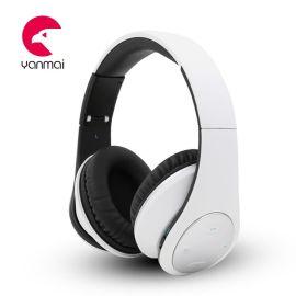 爆款熱賣 頭戴式藍牙耳機帶收音超mp3插卡藍牙無線耳機 廠家直銷批發