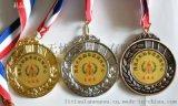 惠州奖牌金属奖章运动会勋章镀金纪念章设计订做工厂