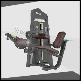 商用健身器材室内 坐式曲腿训练器 山东健身器材厂家