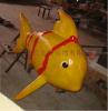 厂家直销专业定制 玻璃钢卡通动物造型 鱼类玻璃钢制品 商场美陈