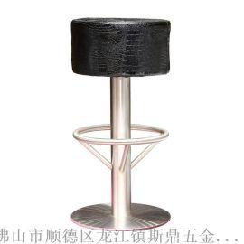 斯鼎S036廠家批發定制 吧椅吧臺椅時尚酒吧凳 休閒現代不鏽鋼椅子