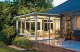 高檔碳鋼平面斜頂陽光房