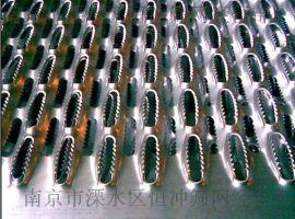 南京鳄鱼嘴防滑板_不锈钢防滑板_鱼眼防滑板