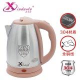 1.8L不鏽鋼高端電熱水壺全銅線鑫多福品牌
