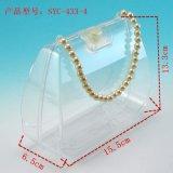 厂家供应塑胶盒化妆盒带珠珠提手塑料盒彩笔套装盒