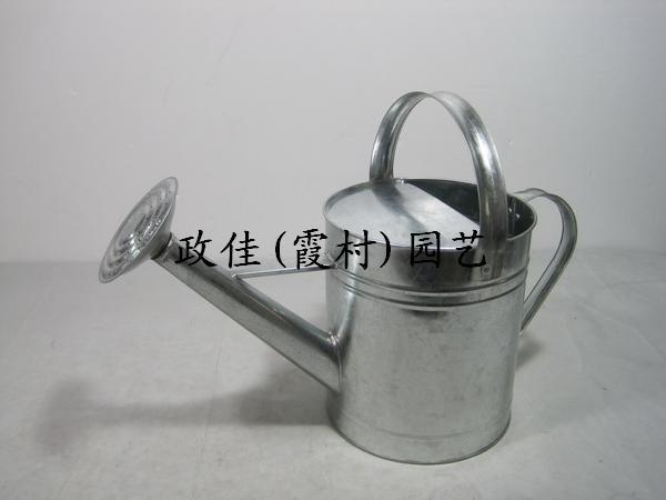 金属镀锌铁皮洒壶,铁皮洒水壶,金属铁皮可喷漆丝印洒水壶