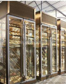 北京不鏽鋼紅酒櫃|定制恆溫恆溼酒櫃
