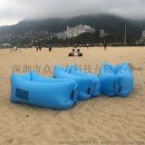 厂家户外沙滩沙发  便携式口袋充气垫午休床 旅行轻巧便捷充气床
