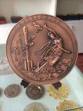 专业生产锌合金纪念盘 庆典奖盘定制 活动奖盘定做 来图定做